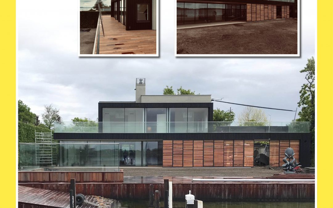 Verbouwde woning aan het Veerse Meer