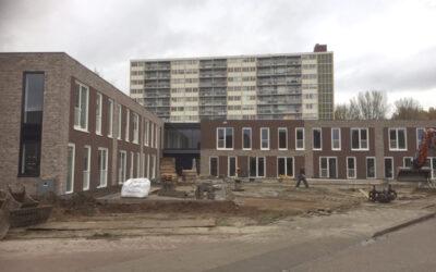 Nieuwbouw appartementen.