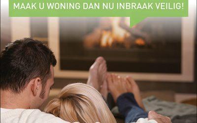 Wilt u ook relaxed de winter periode doorkomen? Maak u woning dan nu inbraak veilig!