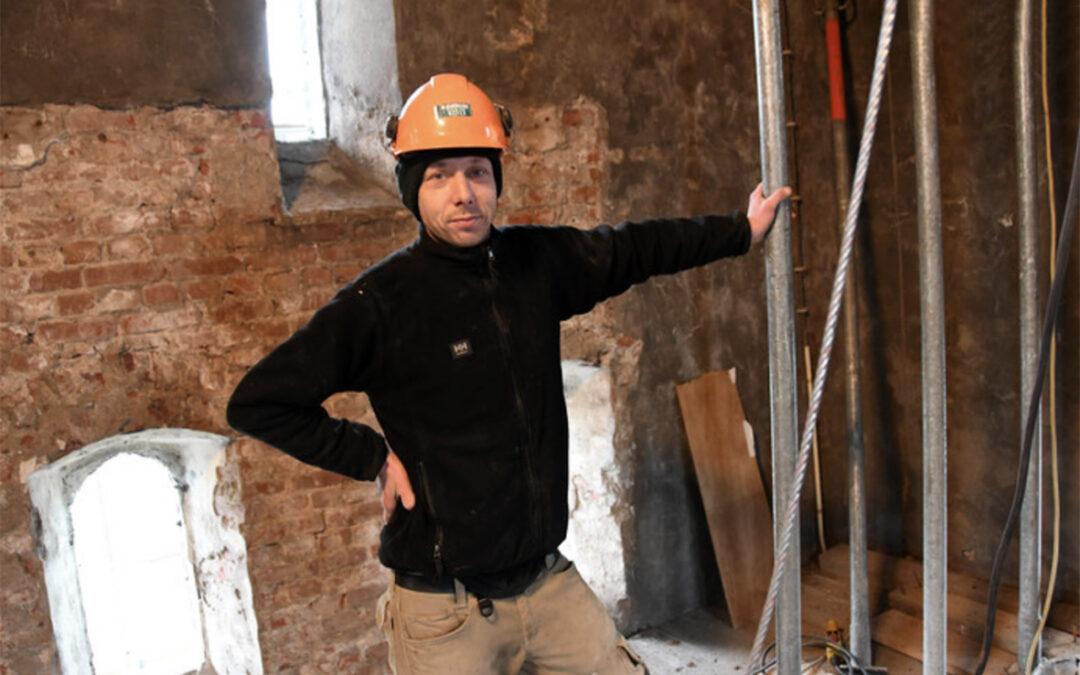 Restauratie Willibrordustoren in Terneuzen is werk voor de liefhebbers, voor creatieve mensen